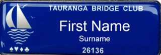 01 Tauranga Bridge Club Name tag